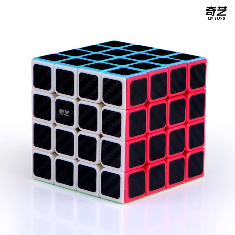 Qiyi Qiyuan S 4x4x4 Magic Cube Puzzle 4x4 Speed Cube Educational Toys For Children Beginner Professional Puzzle Toys Cubo Magico