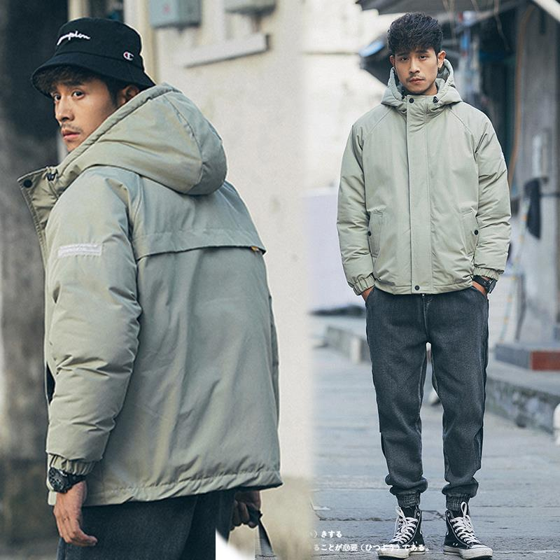 New 2020 Winter Men Outerwear Plus Size Polyester Thick Fashion Jacket Men Casual Warm High Quality Brand Coats