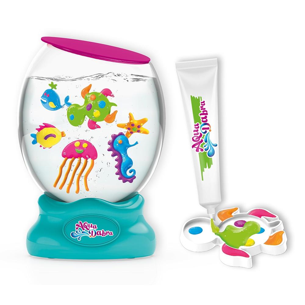 Aquarium jouet bricolage Aquarium enfants Funnny jouet magique avec moule Animal de mer explorer créer monde de la mer Aquadabra Funnny jouet