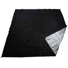 Ultralight Tarp Outdoor Camping Survival Sun Shelter Shade Awning Silver Coating Pergola Waterproof Beach Tent Black 3f ul gear 4x3m silver coating flysheet waterproof sunscreen 210t taffeta hanging tarp tent beach canopy