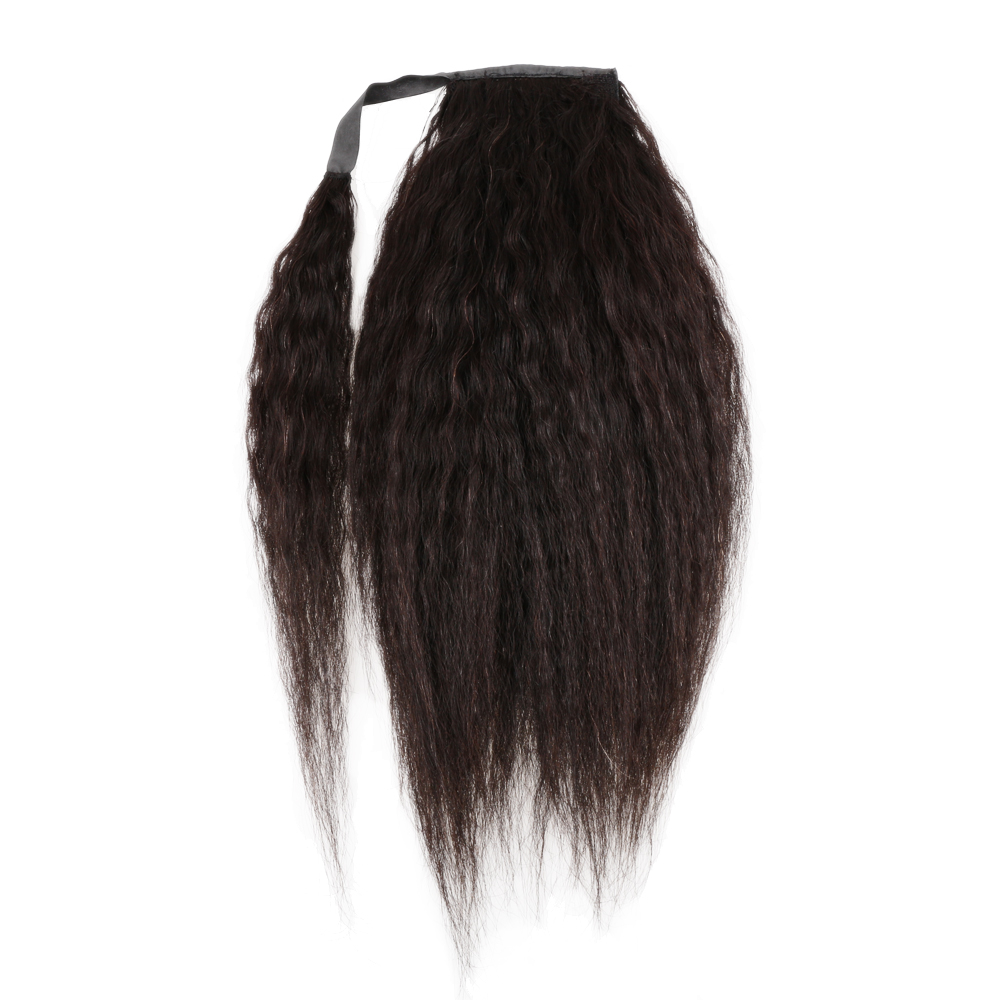 Hair Straight Drawstring Ponytail Human Hair Brazilian Clip In Hair Extensions Kinky Curly Remy Ombre Wrap Around Ponytail Yaki