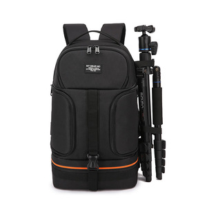 Image 3 - Bolsa de cámara para viajes al aire libre SLR mochila de fotos impermeable Oxford tela cámaras bolso de hombro para Canon 5D 7D Nikon D3400 Sony A6000