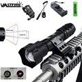Масштабируемый ИК-светильник 8 мм объектив тактический охотничий светильник 850 Нм инфракрасное излучение фонарь ночного видения с винтовоч...
