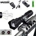 Zoomable IR Flash светильник 8 мм объектив тактический охотничий светильник 850 Нм инфракрасное излучение фонарь ночного видения с винтовкой крепле...