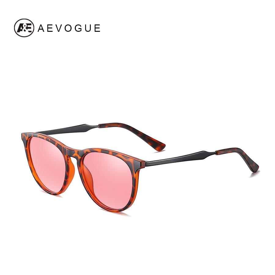 AEVOGUE New Women Polarized Korean Fashion Sunglasses Men Driving Retro Outdoor Glasses Brand Design UV400 AE0816 10