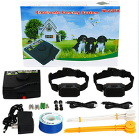 Dog Fence In Ground Electric Pet Fence Rechargeable Electric Dog Training Collar Receivers Pet Containment System W 227B For Dog