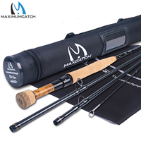 Maximumcatch Maxcatch Competition InTouch Nymph Fly Rod for Euro Nymphing Fly Fishing Rod with Cordura Tube