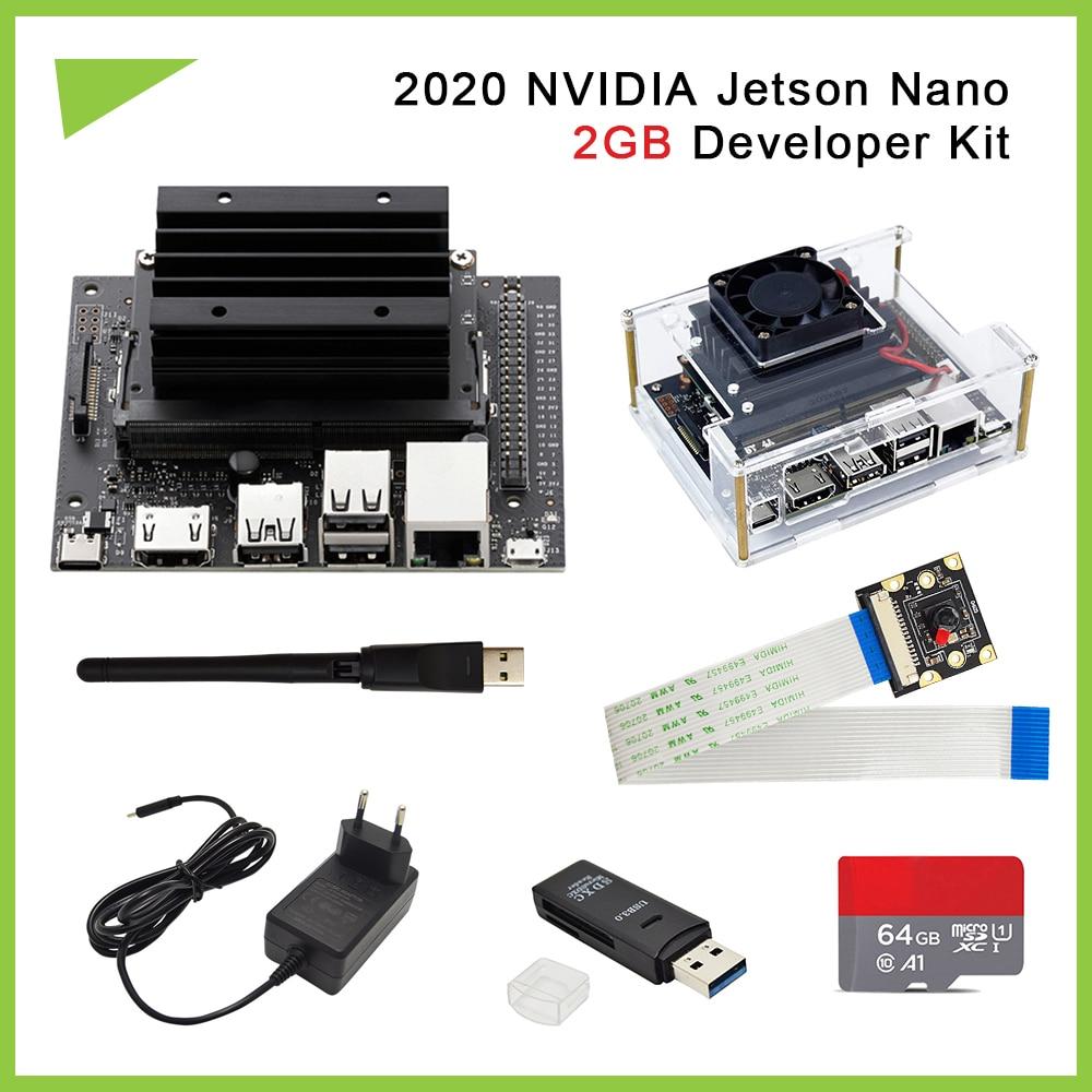 2020 nvidia jetson nano 2gb desenvolvedor kit pequeno poderoso computador para adelivery excelente desempenho de ia