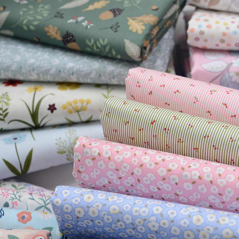 100% tkanina bawełniana dzieci bawełniany Patchwork tkanina DIY szycie pikowanie grube ćwiartki materiału dla dziecka i dziecka