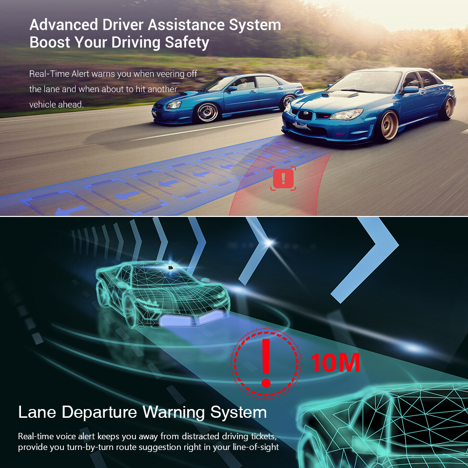 70mai Dash Cam Pro 1944P HD GPS ADAS Car DVR Wifi Dash Camera Voice Control 24H Parking Monitor Night Vision Video Recorder - 4