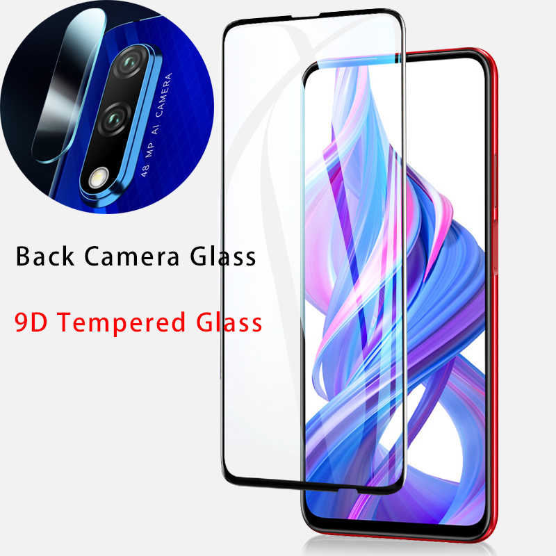 9D Screen Protector for Honor 10 9 Lite Lens Protective Glass for 10i 20i 20S Play Camera Tempered Glass for Huawei Honor 20 Pro