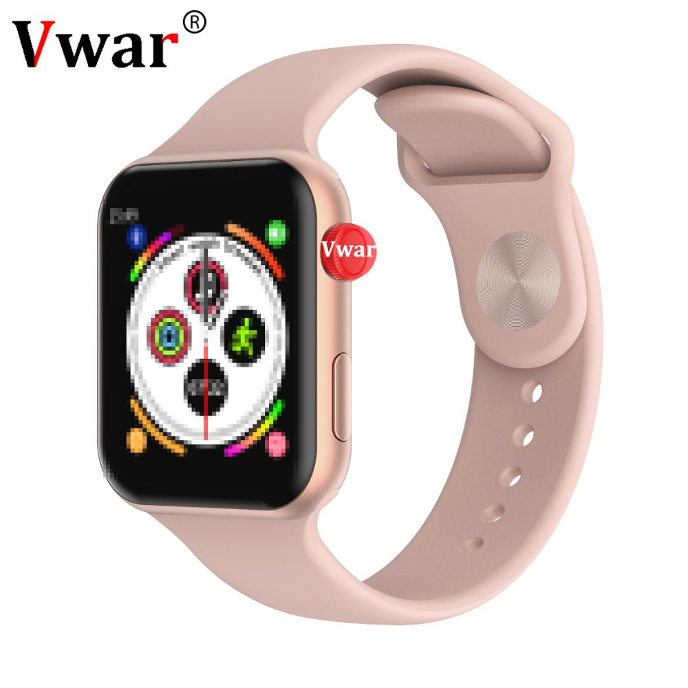 Vwar <font><b>F10</b></font> Bluetooth Smart Watch ECG Heart Rate Monitor iwo 8 lite <font><b>Smartwatch</b></font> for Android Apple IOS Phone PK iwo 8 lite10 Watch image