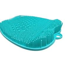 Foot Scrubber Massager Pad Shower Foot Brush Deep Clean Exfoliate SPA E2S