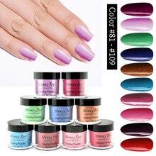 Very Fine Rose Red Pink Green Blue 28g/Box Dipping Powder No Lamp Cure Nails Dip Powder Gel Nail Polish Salon Effect Natural Dry