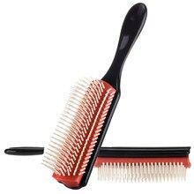 Brosse de coiffure et de coiffure pour Salon de coiffure, peigne pour cheveux bouclés droits et démêlants en paille de blé, accessoire pour Salon de coiffure