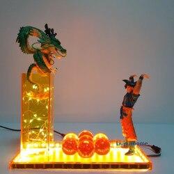 Dragon Ball Lampe Beschwören Die Shenron Led-Blitz Beleuchtung Modell Dragon Ball Super Shenlong Lamparas DBZ
