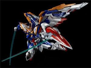 Image 2 - COMIC CLUB instock MJH mojianghun hirm style version wing gundam zero ew KA MG 1/100 action assembly figure robot toy