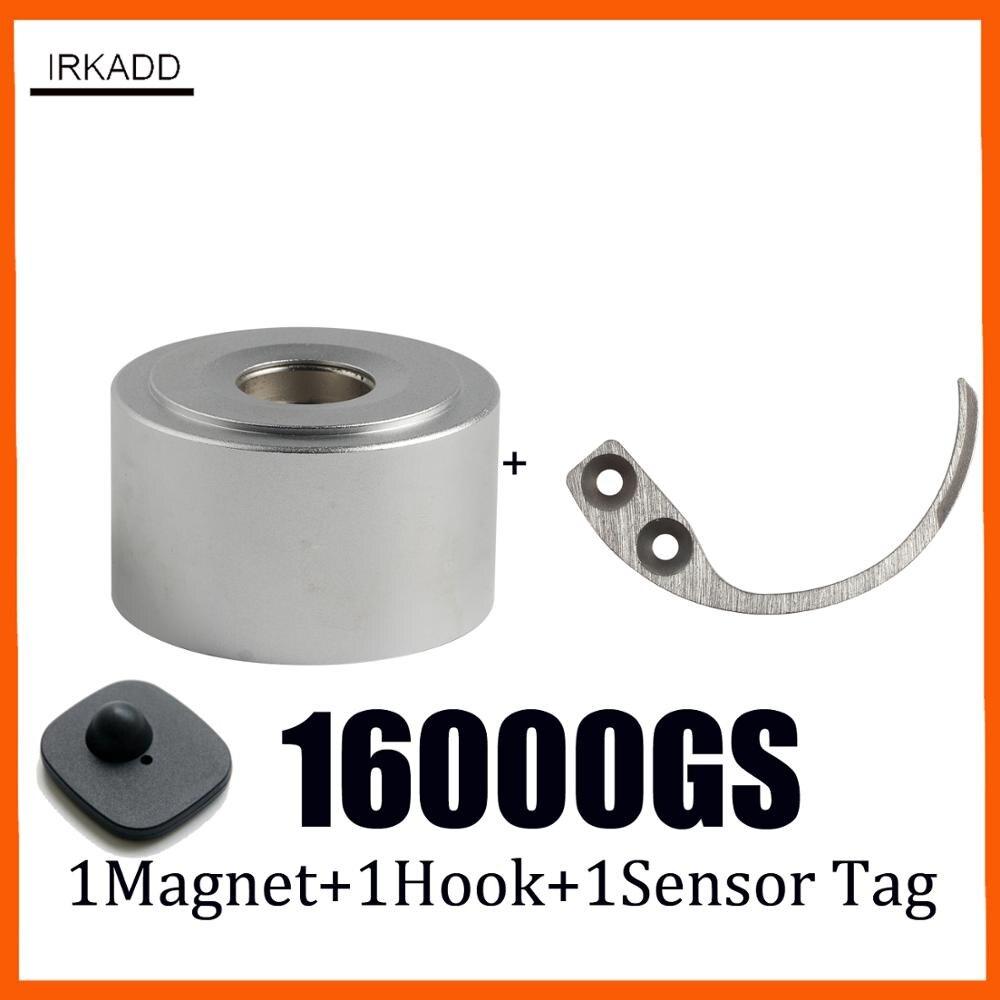 16000GS Magnetic Detacher Eas Detacher 1pcs+1 Piece Key Detacher Mini Detacher Detacher Key+1 Sensor Tag Alarm Security Tag