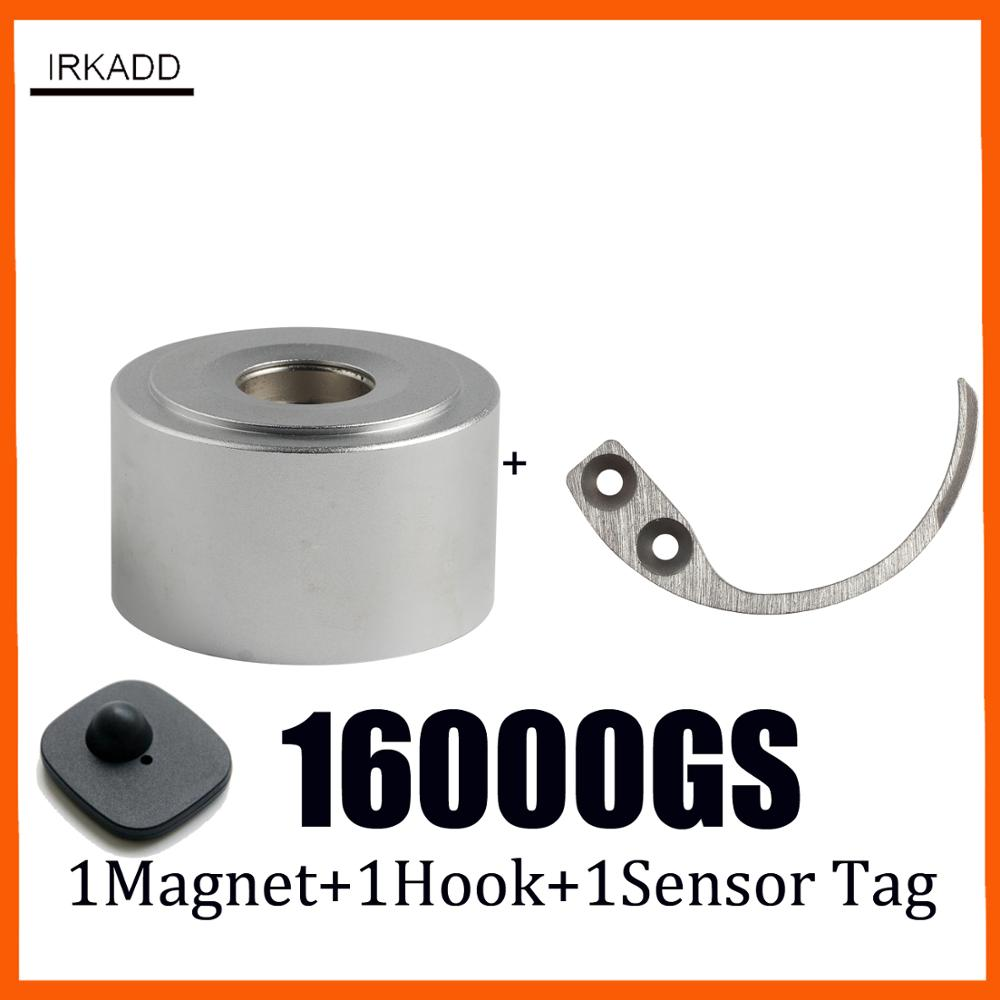 Magnet Tag Remover 16000GS  Superlock Eas Retail Security Tag Detacher Magnetic Detacher+1 Hook Detacher+1 Alarm Tag