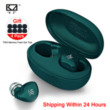 KZ S1D/S1 TWS Wireless Touch Control Bluetooth 5.0หูฟังแบบไดนามิก/Hybridหูฟังตัดเสียงรบกวนหูฟังกีฬา