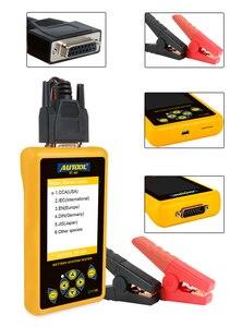 Image 4 - AUTOOL BT460 Tester Batteria Digitale Auto Strumento di Diagnostica Strumenti di Analisi di Piombo acido CCA AGM GEL Auto Analizzatore di Batteria 12V 24V