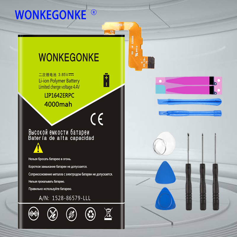 WONKEGONKE LIP1642ERPC <font><b>Battery</b></font> For SONY <font><b>Xperia</b></font> <font><b>XZ</b></font> Premium XZP G8142 G8141 <font><b>Batteries</b></font> Bateria image