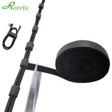 Roreta USB Кабельный организатор устройство для сматывания шнура питания Галстуки Мышь провода наушники держатель шнур для ПК свободного кроя ...