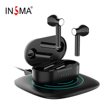 INSMA Airbuds 2 TWS bluetooth V5.0 True Wireless Charging Earbuds With Dual Mic