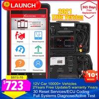 LAUNCH-minillave de sistema completo X431 Pro, programa Fob/codificación ECU/30 + juegos de 10000 + modos de coche, Launch X431 PRO, herramientas de diagnóstico automático