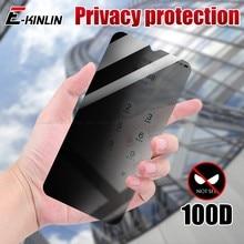Privacidade protetor de tela de vidro capa para vivo y30 y30i y20 y20i y20s anti spy peeping vidro temperado película protetora