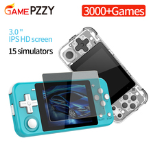 """Ouvert double système de poche rétro Console de jeu vidéo 3 """"HD IPS écran enfants cadeau 16 simulateur soutien PS1 nouveau jeu 3D jeux"""