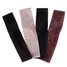 1 pc Women Non-slip Adjustable Soft Velvet Elastic Band Wig Grips Headband Hair Scarf Band Fastener Wig Grip Band(China)