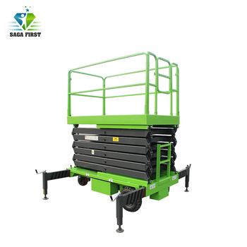 Double Cylinder Hydraulic Scissor Lift Table
