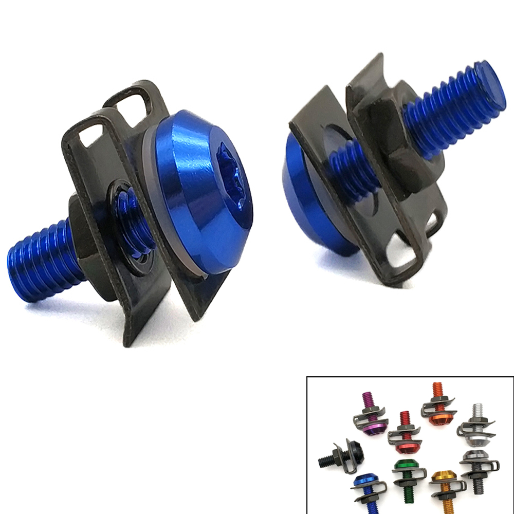 For <font><b>Suzuki</b></font> gsf 1250 650 <font><b>gsxr</b></font> 1000 <font><b>1100</b></font> 400 600 750 Universal Motorcycle Fairing Body Bolts Scooter Clips Screw Nuts M6 image