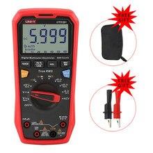 UNI-T ut61b + ut61e ut61d handheld profissional multímetro digital tester unidade verdadeiro rms faixa de automóvel 6000 contagens dc ac 1000v
