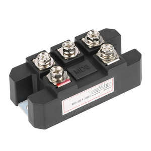 1pc MDS100A Black Three Phase Diode Bridge Rectifier 100A Amp High Power 1600V Balastro Electronico Power Supply