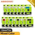 Absonic 24 Цвет 6/9/12/18/24 мм 40913 45013 совместимый с Dymo D1 запечатанных лент для 45803 53713 43613 для Dymo LabelManager 160 280 210