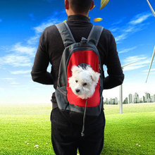 Pet Carrier Backpack Bag Portable Travel Dog Front Mesh Head Out