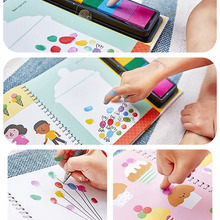 Coloring Book Learning Draw Baby Creative Washable-Color Painting Pigment Art-Supplies
