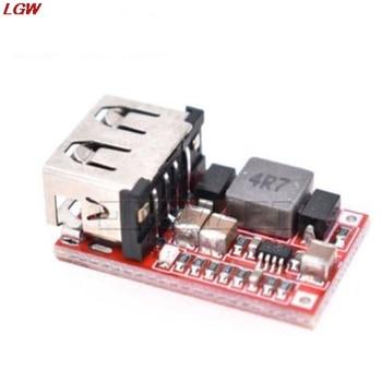 цена на DC USB Buck Step Down Converter 6-24V 12V/24V to 5V 3A CAR Charger Module