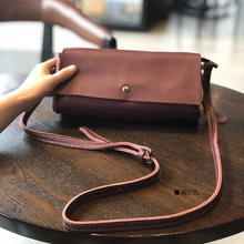 2020 new leather simple messenger bag solid color small square bag female bag simple shoulder bag small bag handbag shunruyan new women s national vintage craft wipe color leather simple shoulder messenger bag portable small square package