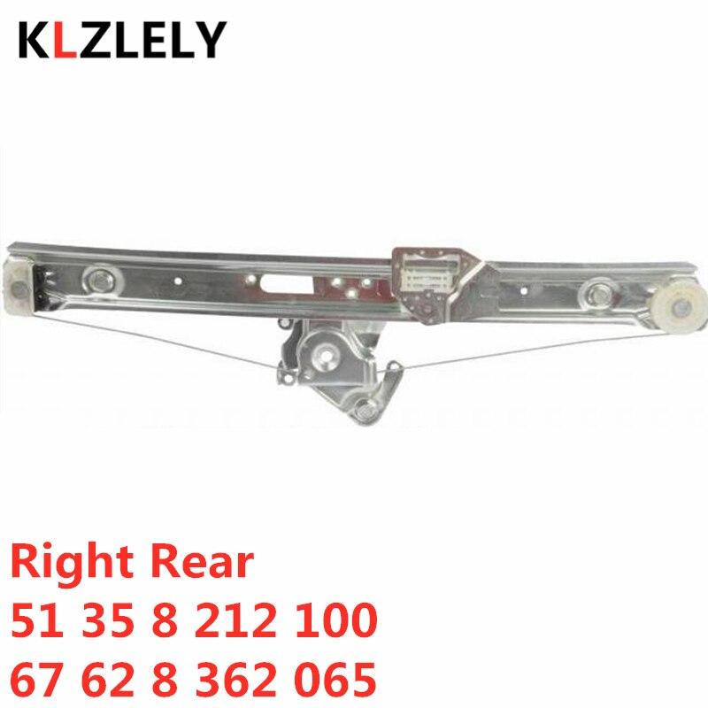 For BMW E46 318 320 330 325 316 I D Xd Xi  Right Rear Window Regulator 51 35 8 212 100  67 62 8 362 065