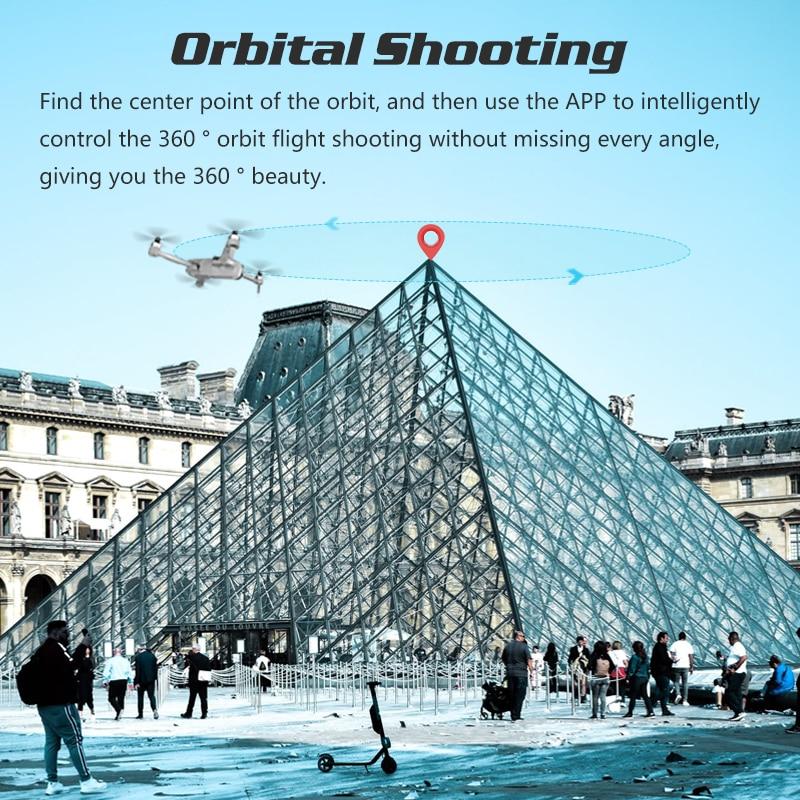 Dron 4K GPS Drone with Adjust Gimbal HD Camera Speaker Quadcopter Follow Me RC Quadrocopter VS K1 K20 SG906 F11 Zino