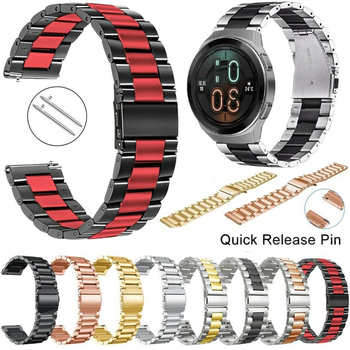 Stainless Steel Strap For Huawei Watch GT 2E/GT2 2 46MM/GT Active Smart Bracelets Watch Band 22MM Straps For Honor Magic Correa