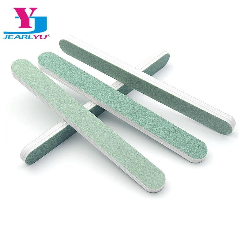 5Pcs/lot Nail File Straight Sandpaper Grit 120/180 Polishing Buffer  Block Salon Usage Grinding Polishing Accessories Nail Care