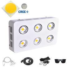 600w/1200w/1800w cree cxa2590 cob светодиодный grow светильник