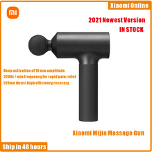 2021 Xiaomi Mijia Massage Gun Electric Neck Massager Smart Hit Fascia Gun For Body Massage Relaxation Fitness Muscle Pain Relief