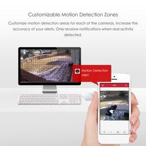 ZOSI 4CH H.264 NVR 1080P IP сетевая POE видео запись ИК наружная камера видеонаблюдения системы безопасности комплект домашнего видеонаблюдения