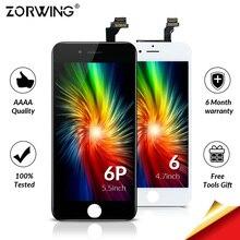 כיתה AAA LCD מסך עבור iPhone 6 6 S 7 8 בתוספת LCD תצוגה + מגע החלפת מסך עבור iPhone 6 S 5S LCD Ecran Pantalla