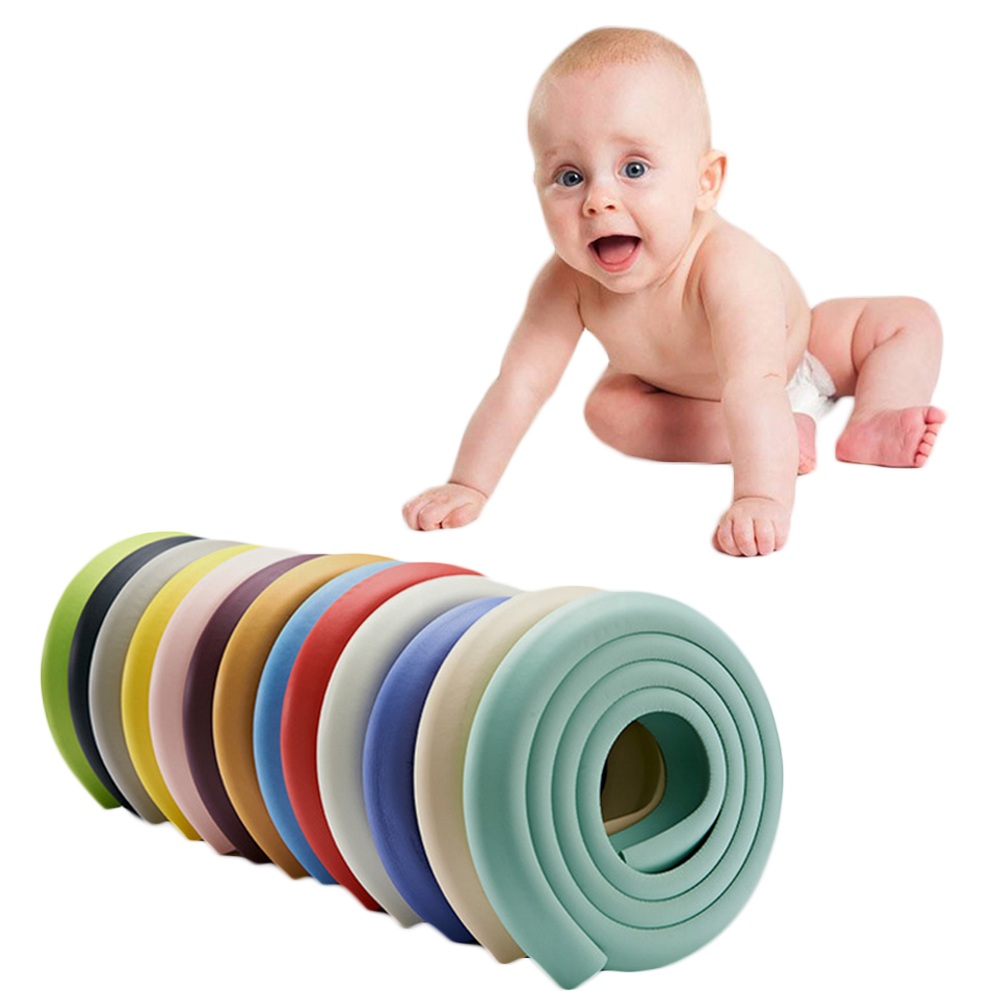 2M Children Protection Table Guard Strip Baby Safety Products Desk Edge Cushion Kids Anti-knock Thicken Protective Strip